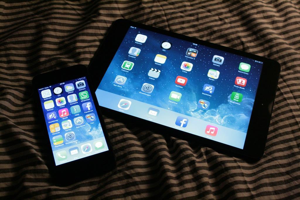 o próprio sistema iOS oferece opções para bloqueio de apps